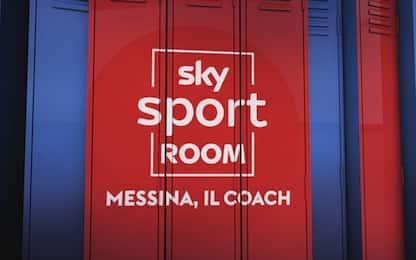 A Sky Sport Room, Messina il coach