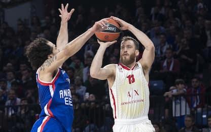 Milano cade a Istanbul: l'Efes vince 88-68
