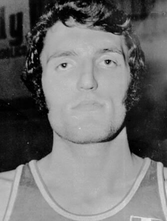 Dino Meneghin in una immagine del 21 maggio 1981.  ANSA