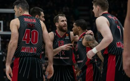 Milano ancora un ko: il Fenerbahce vince 73-64