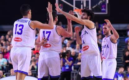 Eurobasket 2021, Italia batte Estonia 87-81