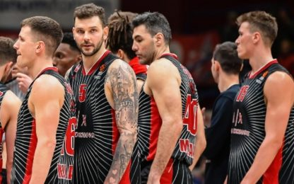 Eurolega, Milano-Real Madrid a porte chiuse