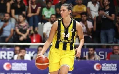 Turchia, basket non si ferma: in campo Zandalasini