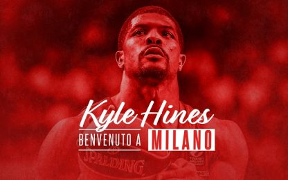 Milano: ufficiale l'arrivo di Kyle Hines