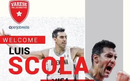 Luis Scola a Varese, firma un contratto di un anno