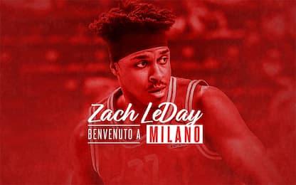 Altro colpo per Milano: arriva Zach LeDay