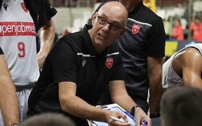 Basket, sorpresa Varese: esonerato Attilio Caja