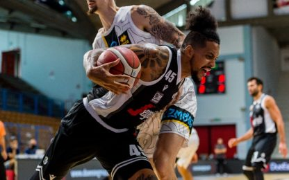 Basket City amara per la Virtus, bene la Fortitudo