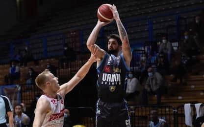 Cremona e Trento fanno festa: Varese e Pesaro ko
