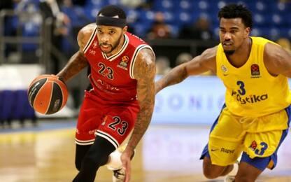 Olimpia, colpo grosso a Tel Aviv: Maccabi ko 86-85