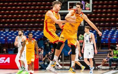 Coppa Italia: Brindisi e Pesaro in semifinale
