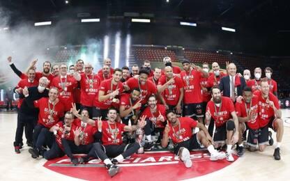 Milano vince la Coppa Italia: Pesaro ko 87-59