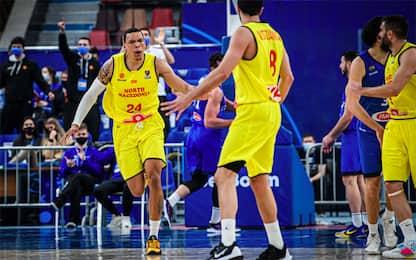 Italia, altro ko: Macedonia del Nord vince 87-78
