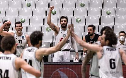 Eurocup, Virtus vince gara 1 semifinale: Kazan ko