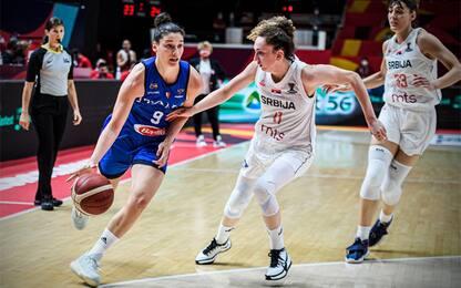 Italia beffata all'overtime, la Serbia vince 86-81