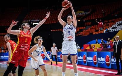 L'Italia si riscatta, Montenegro sconfitto 77-61