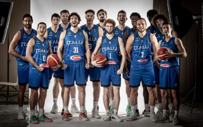 Italbasket: i nomi dei 12 convocati al preolimpico