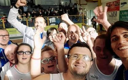 Nazionale con sindrome di Down campione d'Europa