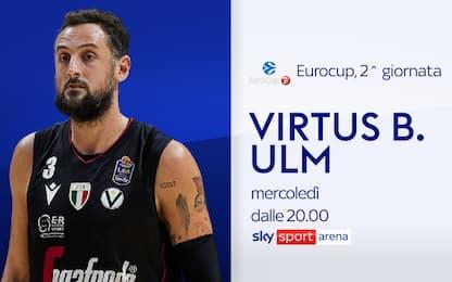 Eurocup, stasera in campo Trento e Virtus Bologna
