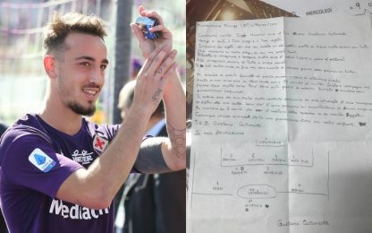 """""""Caro mister"""": cosa scriveva il 14enne Castrovilli"""