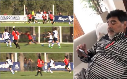 "Guinazu show, Maradona: ""Un gol dei miei"". VIDEO"