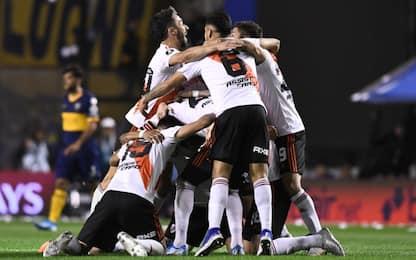 Il Boca vince 1-0, ma non basta: River in finale