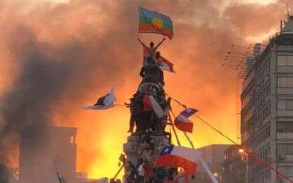 Proteste in Cile, campionato sospeso