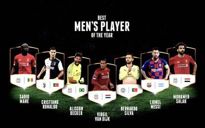 Globe Soccer Awards: CR7 e Allegri tra i candidati