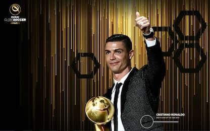 Globe Soccer Awards: CR7 tra i finalisti