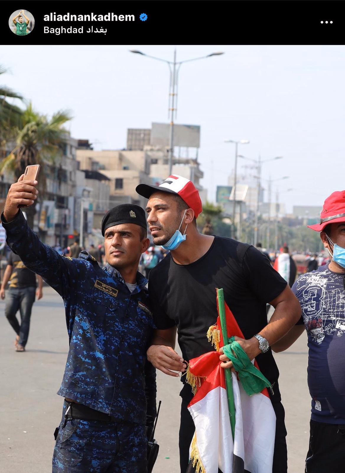 Ali Adnan selfie