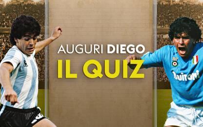 Maradona compie 59 anni, conosci tutto su Diego?