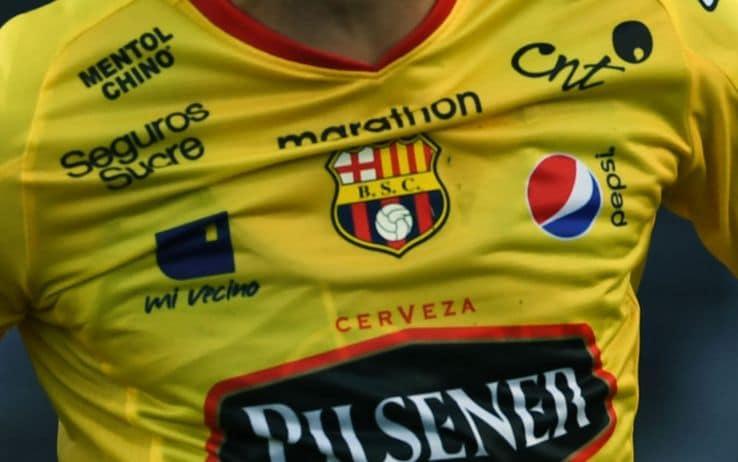 Il logo del Barcelona SC in Ecuador
