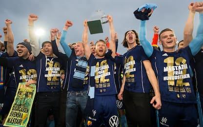 Pazzo Djurgarden, campione in Svezia al fotofinish