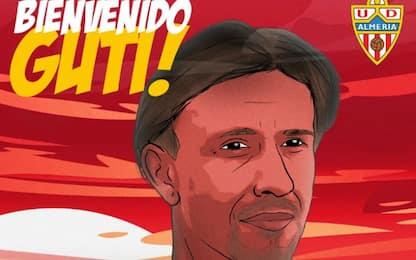 Guti è tornato: è il nuovo allenatore dell'Almeria