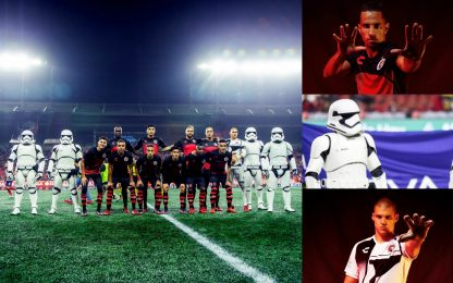 Messico, in campo con le truppe di Star Wars. FOTO