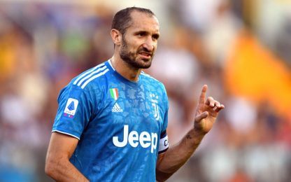 Golden Foot 2019, anche Chiellini tra i candidati