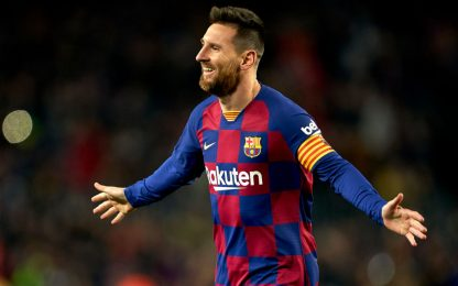 Messi è il re dei bomber nel 2019. LA CLASSIFICA