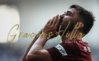 """David Villa si ritira: """"Momento giusto per farlo"""""""