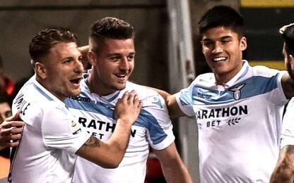 Tenori d'Europa, è della Lazio il trio con più gol