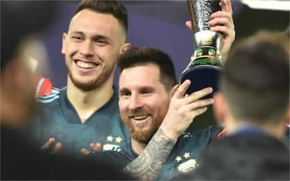 Messi torna ed è decisivo: Argentina batte Brasile