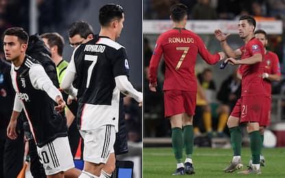 """CR """"a due facce"""": sostituito con Juve e Nazionale"""