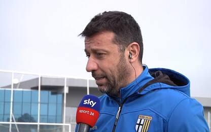 """D'Aversa: """"Kulusevski? Restare gli farebbe bene"""""""