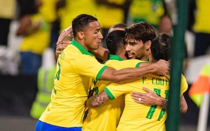 Gol Paquetà-Danilo: tris Brasile a Corea del Sud