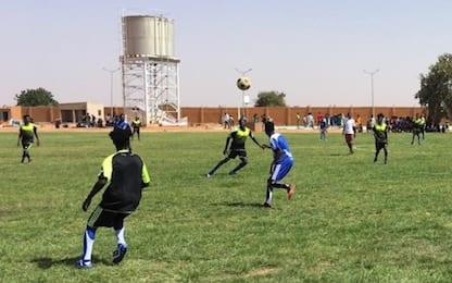 Lo sport come terapia per i rifugiati in Niger