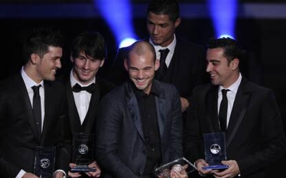 """Sneijder: """"Con impegno sarei stato come CR7-Messi"""""""