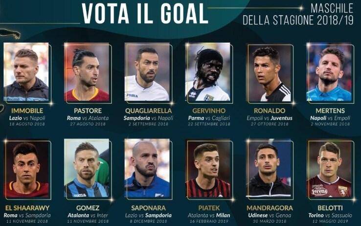 I candidati al miglior gol del 2018/19
