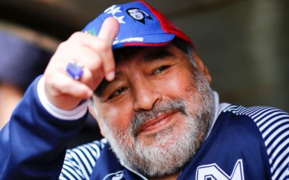 "Maradona cambia idea: ""Resto al Gimnasia"""