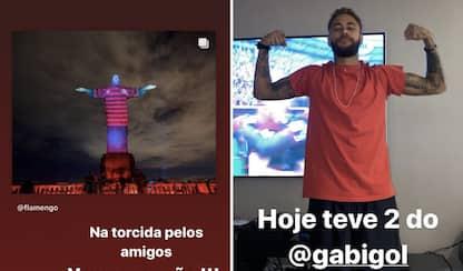Neymar, esultanza matta per Gabigol. VIDEO