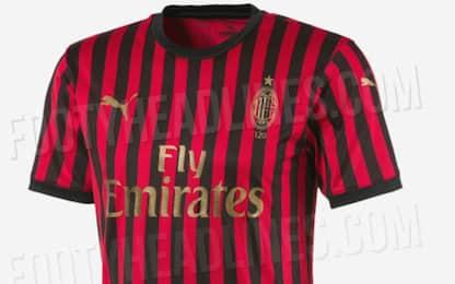 Milan, maglia speciale per i 120 anni. FOTO