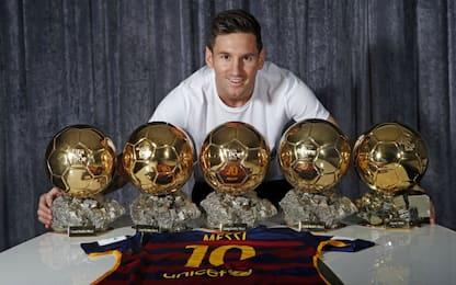 Pallone d'Oro ancora a Messi? Tutti i vincitori
